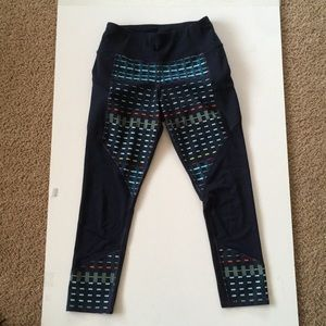 Athlete Capri /  Crop workout pants